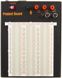 Breadboard Powered