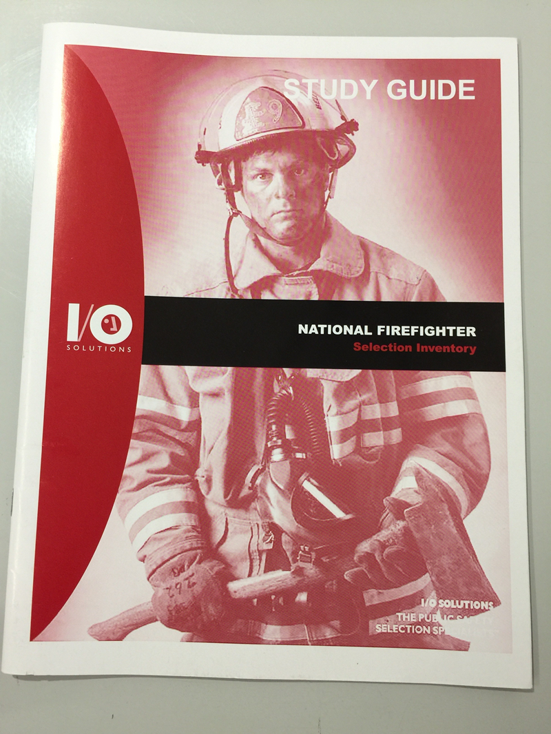 National Firefighter Selection Inventory (SKU 1025934437)