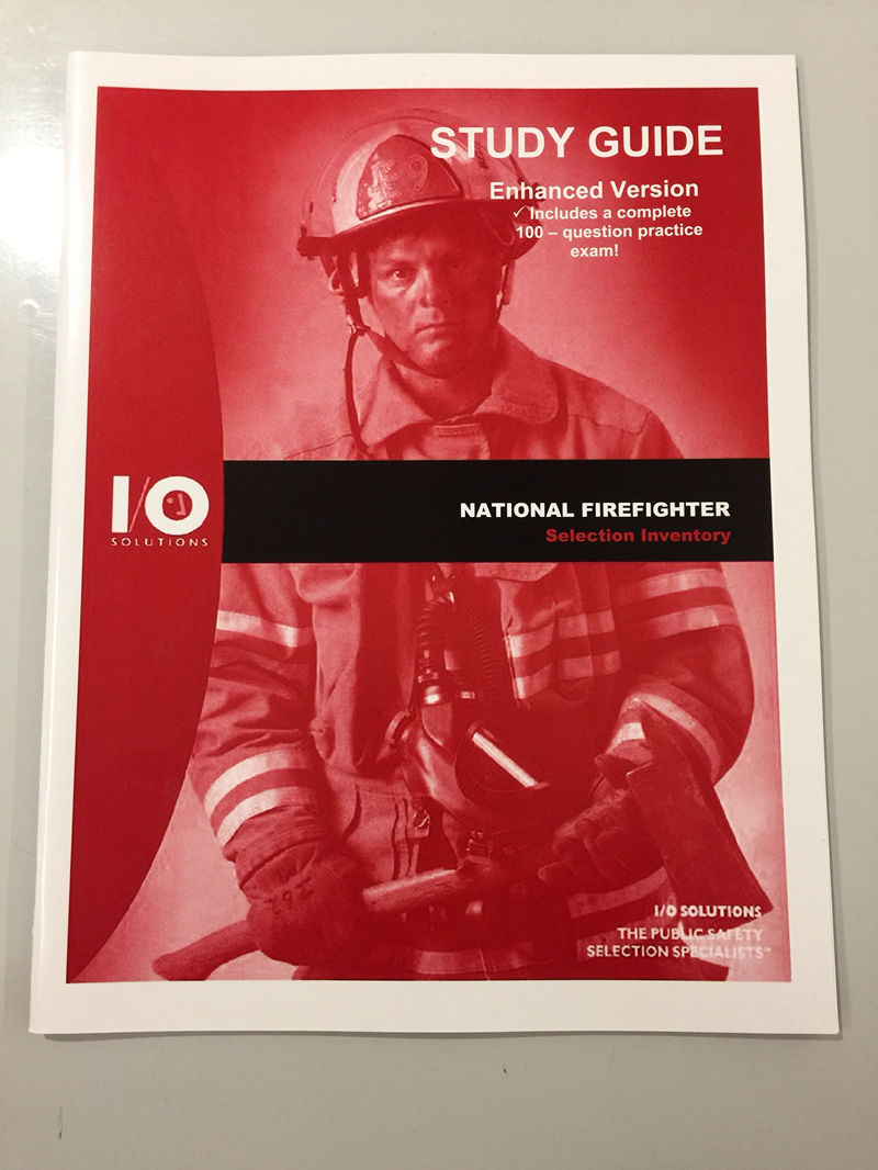National Firefighter Selection Inventory S.G. W/Practice Exam (SKU 1025935137)
