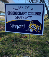 "18"" X 24"" Graduate Yard Sign Double Sided"