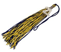 2021 Bling Tassel With Rhinestones
