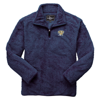 Fuzzy Fleece Pullover Quarter Zip
