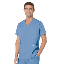 Men's 5 Pocket Scrub Top