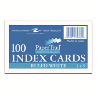Ruled Index Cards 3X5